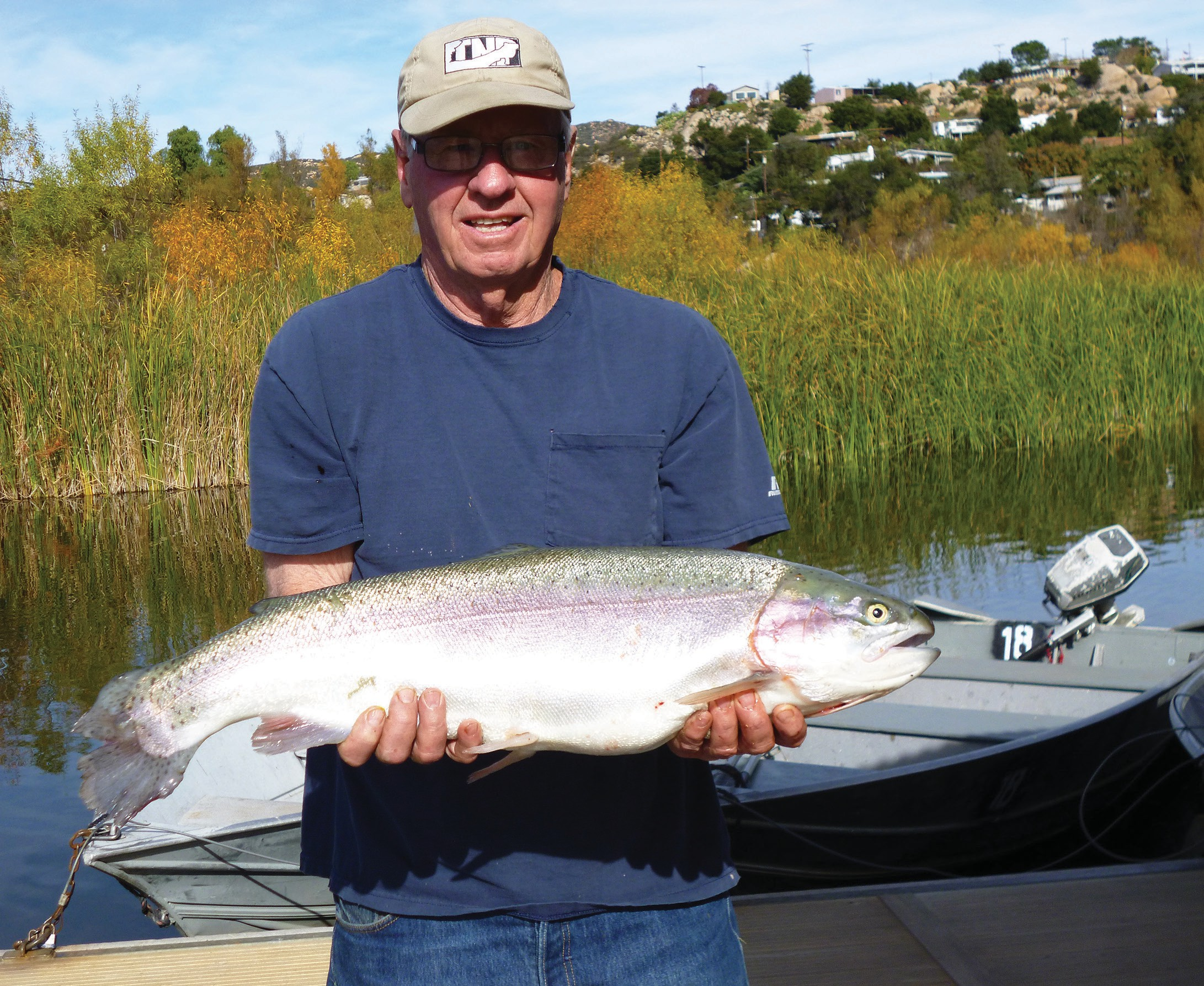 Big fish of the week belonged to David James who caught an 11.10 pound trout using rainbow powerbait on Senior Shoreline.
