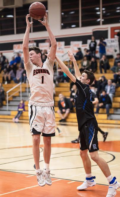Cougar pivot-man Jacob Moskovitz was a huge factor with both his scoring and tenacious work on the boards.