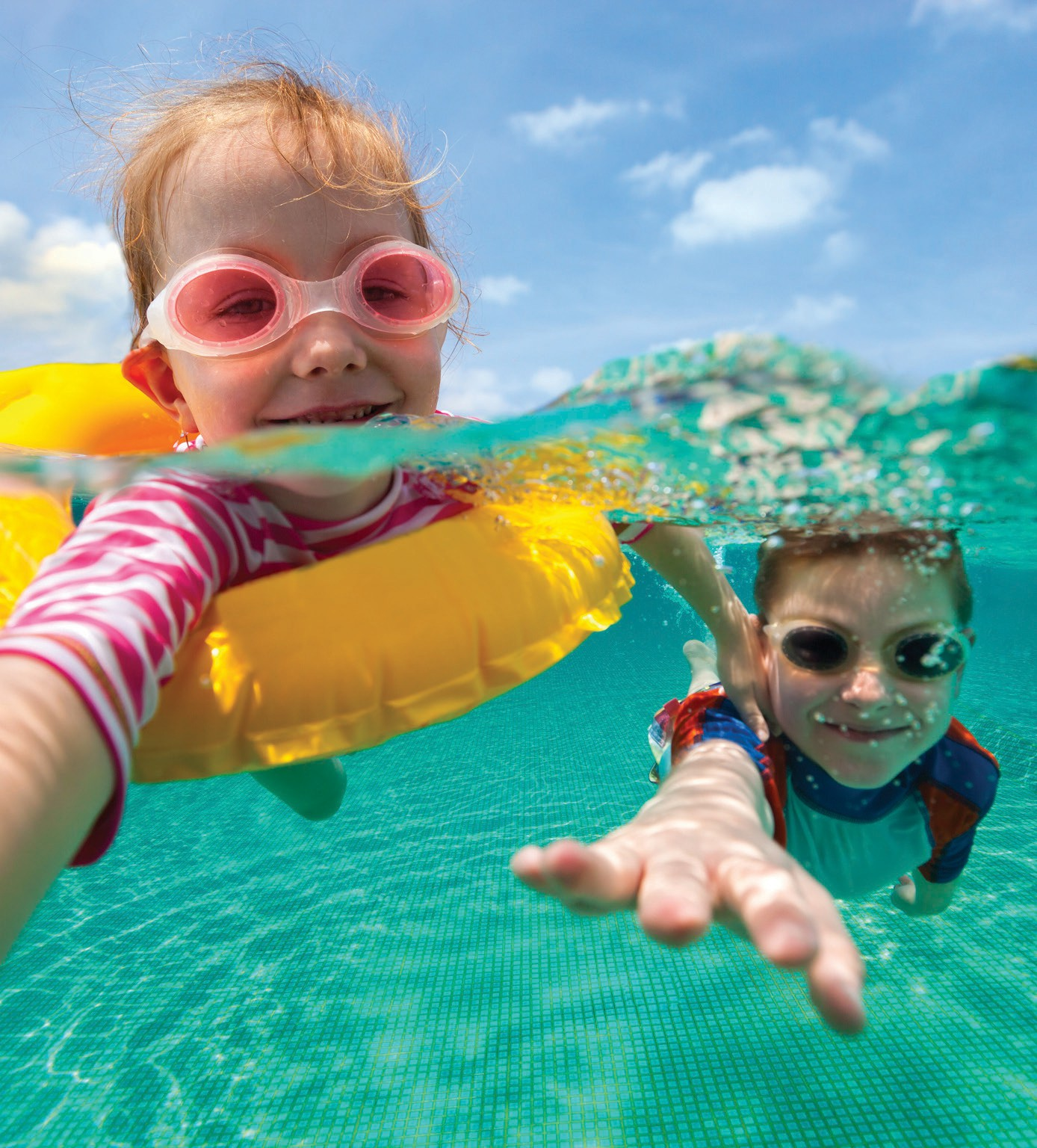 Through the Y's Safety Around Water program, parents and caregivers will be encouraged to help their children learn fundamental water safety and swimming skills.
