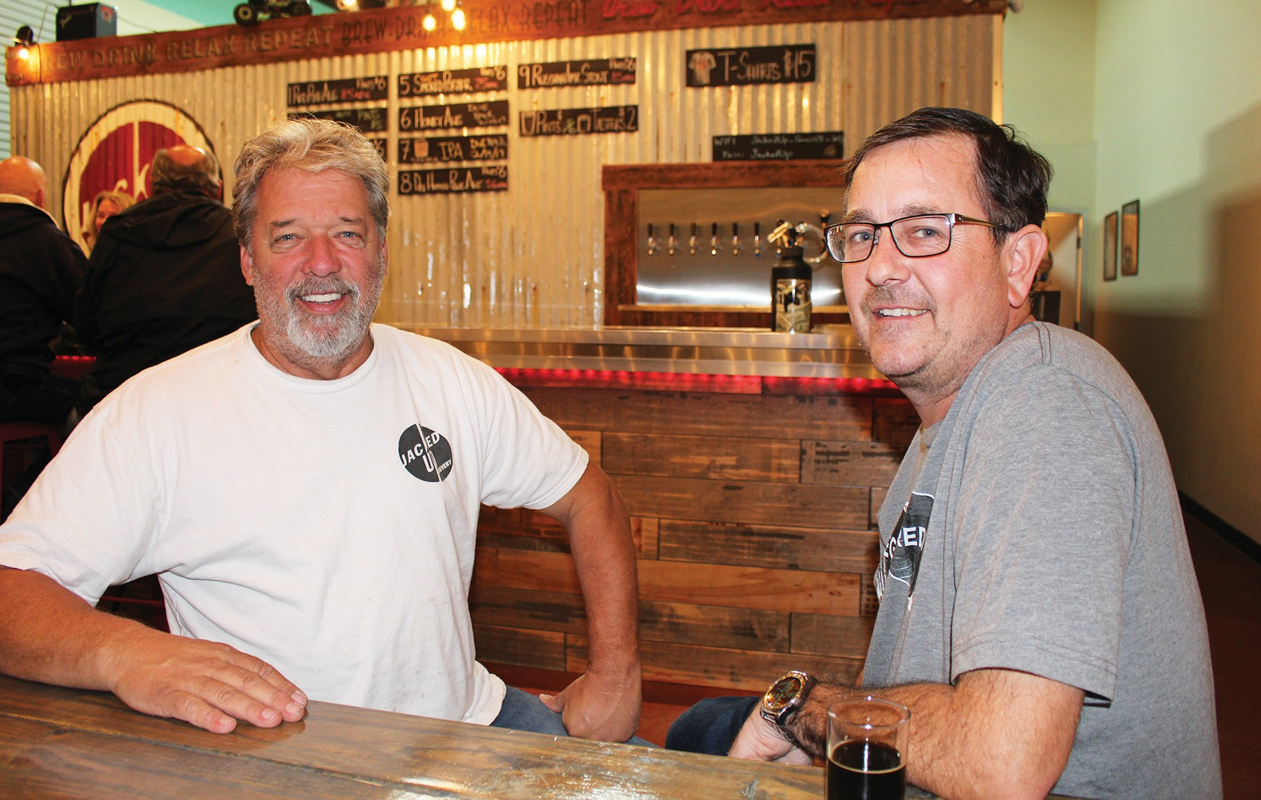 Brewmasters Mike Poulson and Brian McClure don't push anything across the counter that they don't enjoy themselves.